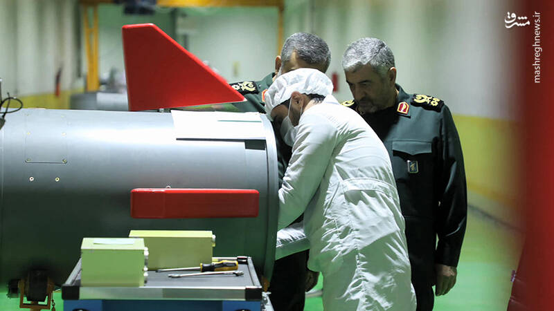 اولین تصاویر از کارخانه زیرزمینی تولید موشکهای بالستیک سپاه