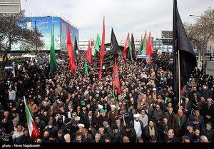 عکس/ اجتماع فاطمیون در مشهد