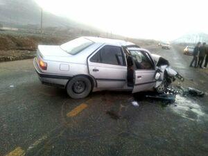 تصادف پژوه ۴۰۵ با تیبا سه کشته بر جا گذاشت