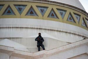 عکس/ محافظ تک تیرانداز اردوغان