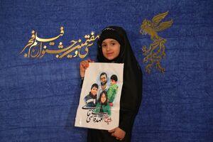 عکس/ متفاوتترین مهمان سیو هفتمین جشنواره فیلم فجر
