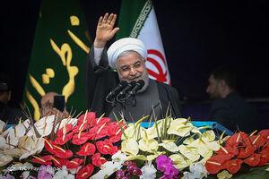 سخنرانی رئیس جمهور در جشن ۲۲ بهمن چهل سالگی