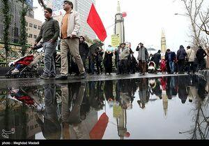 راهپیمایی زیر چتر موشکهای سپاه +عکس