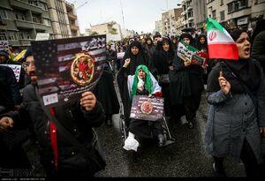 قامت خمیده ها در راهپیمایی