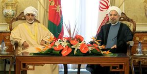 سلطان قابوس سالگرد پیروزی انقلاب را تبریک گفت