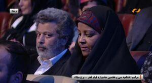 فیلم/ تقدیر از مرضیه هاشمی در جشنواره فجر