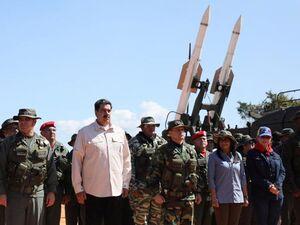 بزرگ ترین رزمايش نظامی تاریخ ونزوئلا