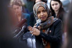 بستن دهان نماینده آمریکا با برچسب یهودستیزی