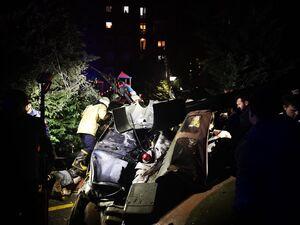 عکس/ سقوط بالگرد نظامی در استانبول