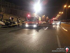 عکس/ تصادف مرگبار پژو 207 در تهران