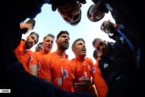 عکس/ برتری سایپا در لیگ قهرمانان
