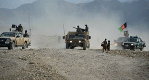 آخرین تحولات میدانی استان فاریاب افغانستان/ حملات سنگین طالبان علیه نیروهای افغان + نقشه میدانی و عکس