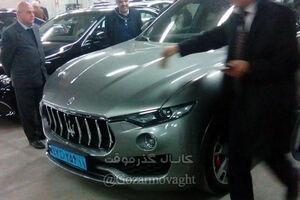 عکس/ مازراتی کمیاب با پلاک دیپلماتیک در تهران!