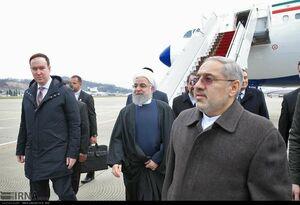 عکس/ همراهان روحانی در سوچی