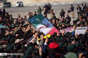 عکس/  ورود پیکر شهدای حادثه تروریستی زاهدان به زادگاهشان