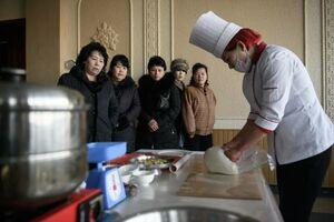 عکس/ مردم کره شمالی چه غذاهایی میخورند؟