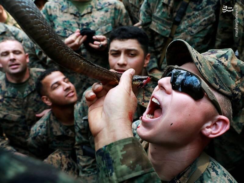 چالش های چندش آوار سربازان آمریکایی