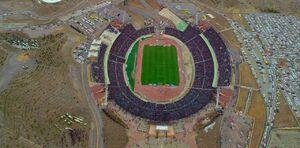 عکس/ نمایی دیدنی از ورزشگاه میزبان بازی استقلال و تراکتور
