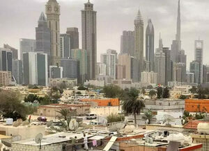 زاغه نشینی دبی