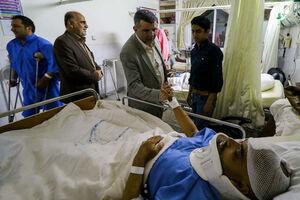 فیلم/ وضعیت مجروحان حادثه تروریستی زاهدان