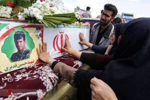 فیلم/ تشییع پیکر مطهر شهدای حادثه تروریستی زاهدان