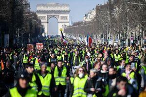 عکس/ چهاردهمین شنبه اعتراض در فرانسه