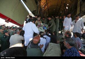 عیادت نمایندگان رهبر انقلاب از مجروحان حمله انتحاری زاهدان +عکس