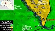 چراغ سبز  شبه نظامیان کُرد برای نجات داعش/ نسلکشی و کشتار غیرنظامیان با بمبهای فسفری جنگندههای ائتلاف غربی + نقشه میدانی و عکس
