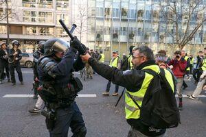 عکس/ آشوب در قلب فرانسه