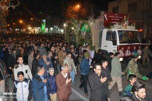 عکس/ تشییع شهدای حادثه تروریستی زاهدان در کاشان