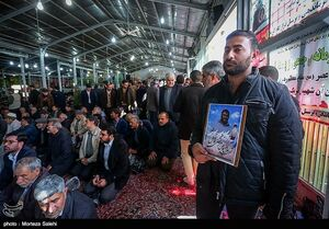 مراسم ختم شهدای حادثه تروریستی زاهدان در اصفهان