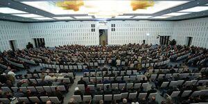 عکس/ سخنرانی عمومی بشار اسد
