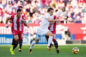 شکست رئال در برنابئو مقابل خیرونا