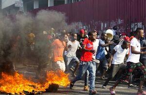 مردم هائیتی خواستار قطع ارتباط با آمریکا شدند