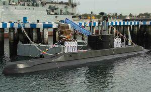 زیردریایی «فاتح» عازم اولین ماموریت خود شد