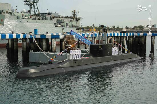 نماهنگ/ رونمایی از زیر دریایی ایرانی فاتح