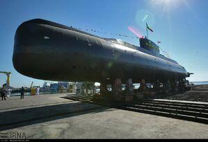 عکس/ زیردریایی فاتح از نمایی نزدیک