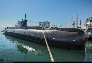 زیردریایی فاتح از نمایی نزدیک