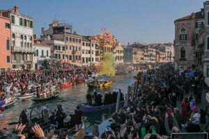 عکس/ جشنواره سنتی قایقهای ونیز