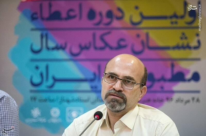 حمید فروتن، رئیس انجمن صنفی عکاسان مطبوعاتی
