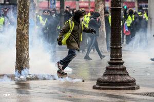 صفآرایی دولت پاریس علیه جلیقهزردها