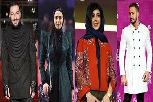 انتقاد خانم خبرنگار از لباسهای عجیب بازیگران! +عکس