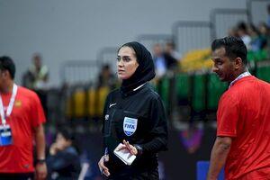 گلاره ناظمی کاندیدای قضاوت جام جهانی فوتسال ۲۰۲۰ آقایان شد