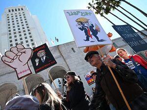 عکس/ تظاهرات علیه ترامپ در آمریکا