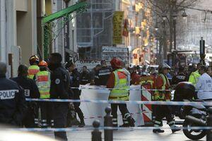 عکس/ حمله خونین با سلاح سرد در شهر مارسی فرانسه
