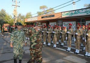 بازدید فرمانده ارتش از تیپ 392 زرهی