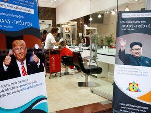 عکس/ خلاقیت سیاسی یک آرایشگر