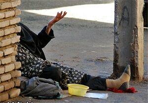دستگیری متکدی زننما با روزی ۶۰ هزارتومان درآمد
