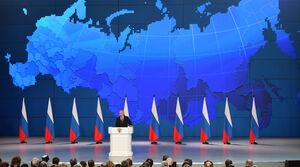 سخنرانی سالانه رئیس جمهور روسیه