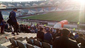 عکس/ حال و هوای ورزشگاه آزادی پیش از بازی استقلال
